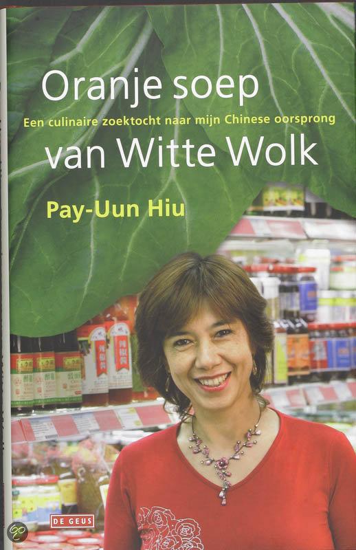 Oranje Soep Van Witte Wolk
