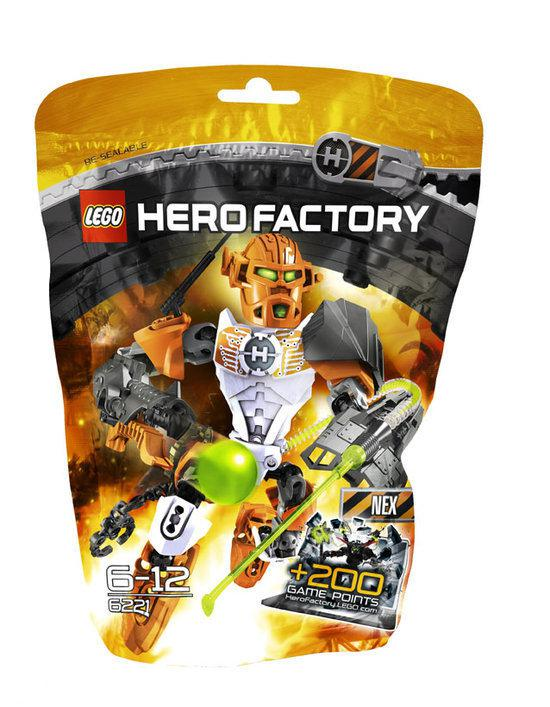 LEGO Hero Factory Nex - 6221