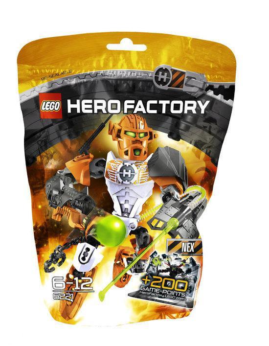 LEGO Hero Factory Nex - 6221