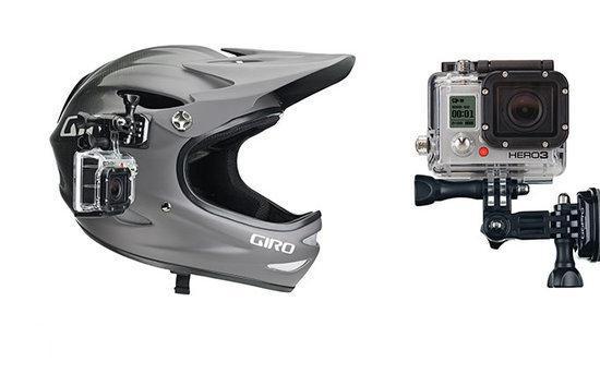 complete helm side mount set plakker bevestiging kwartslag draaiing voor gopro hero. Black Bedroom Furniture Sets. Home Design Ideas