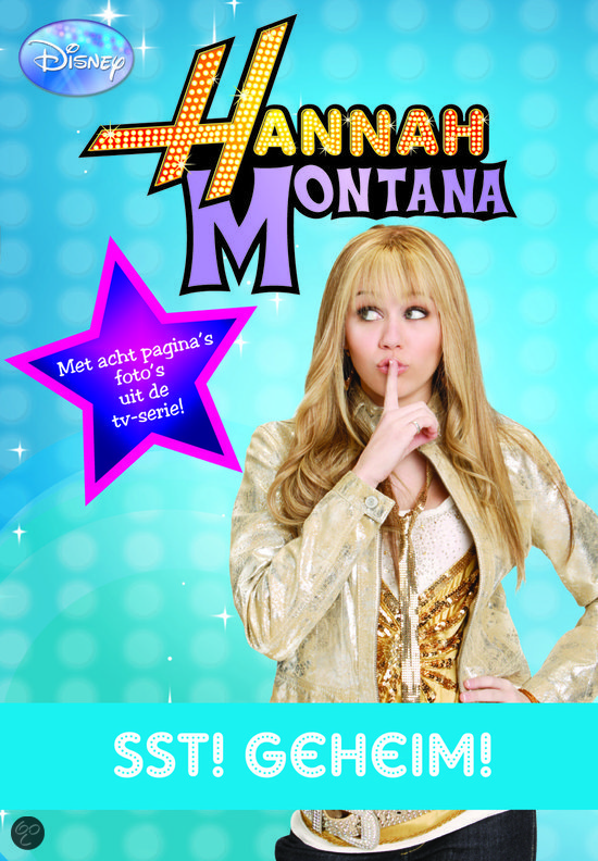 Hanna montana pocket 1 stt geheim sanoma for Sanoma media bv