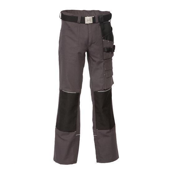 HaVeP Worker.pro 8730 Werkbroek - Maat 62 - Grijs
