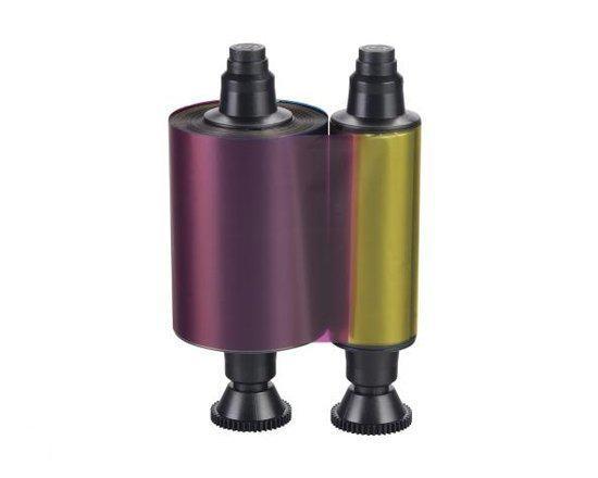 R3011 (5 panel) kleuren printlint voor de Evolis Pebble,  Dualys  en  Securion kaartprinter