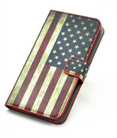 bol.com | Huawei Ascend y300 agenda hoesje USA vlag | 382 x 450 jpeg 25kB