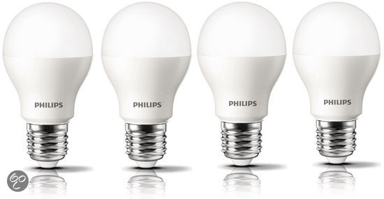 Philips led lamp 32 watt e27 fitting 4 stuks for Led lampen 0 5 watt