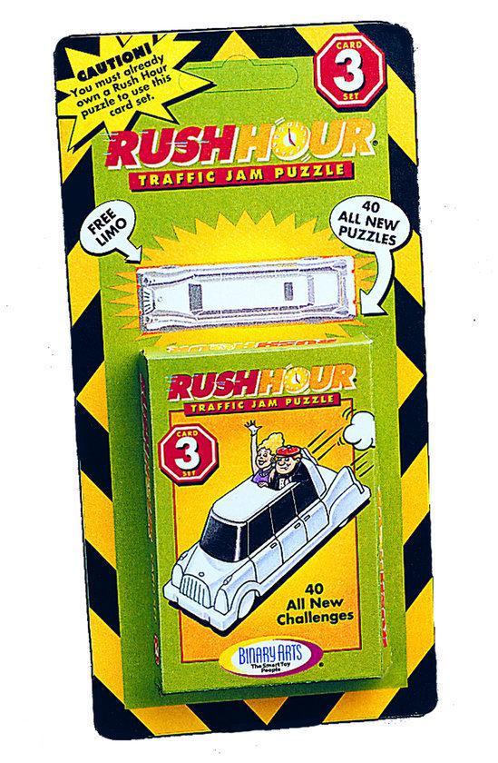 Afbeelding van het spel Rush Hour 3, 40 kaarten & 1 witte limousine