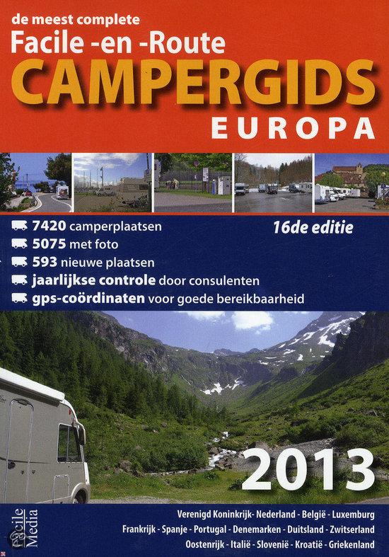 Campergids Facile-en-route Europa / 2013