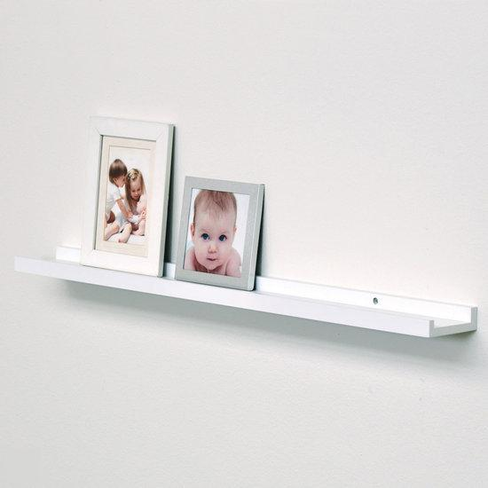 bol.com : Duraline - Fotolijstplank - Wit - 80cm