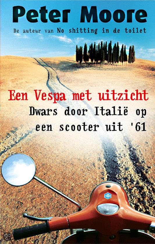 Een Vespa Met Uitzicht