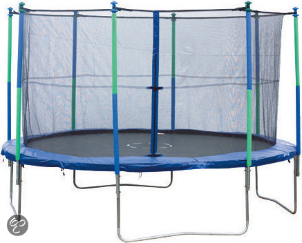 trampoline 300 cm vangnet sportspower. Black Bedroom Furniture Sets. Home Design Ideas