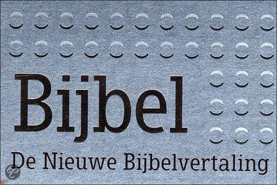 Bijbel de nieuwe bijbelvertaling