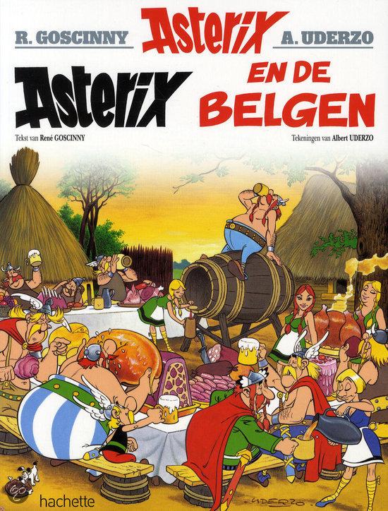 Asterix 24. De Belgen