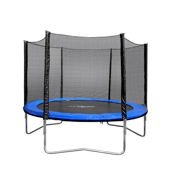 trampoline combo set inclusief veiligheidsnet. Black Bedroom Furniture Sets. Home Design Ideas