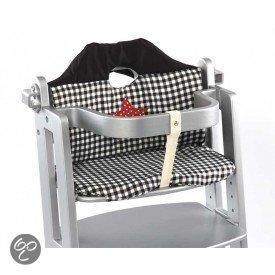 Stoelverkleiner Voor Kinderstoel.Bol Com Titanium Baby Stoelverkleiner Ruitjes Ster Zwart