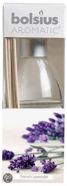 Bolsius French lavendel - Geurstokjes - 120ml - 4 stuks