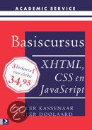 Basiscursus XHTML, CSS en Javascript