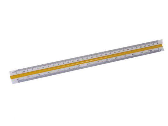 M&R Schaalstok 3-kantig 1630 30cm