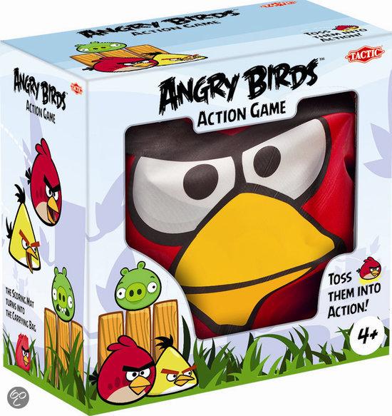 Angry Birds Action Game Giant - Indoor Actiespel