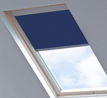 bloc verduisterend dakraamgordijn geschikt voor velux ggl mk04 midnight blue. Black Bedroom Furniture Sets. Home Design Ideas
