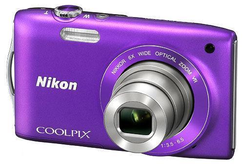 Nikon Coolpix S3300 - Paars