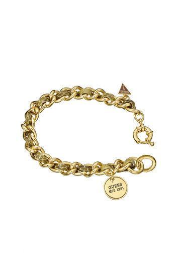 Guess Jewellery UBB71224 - Schakelarmband - Messing goudkleurig PVD