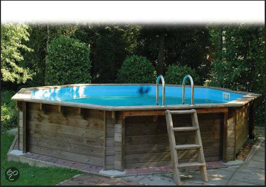 houten zwembad compleet