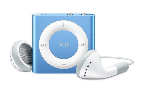 Apple iPod shuffle - 2 GB - Blauw
