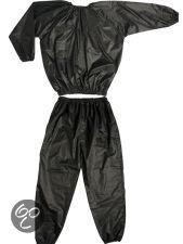 ScSports - Sauna Pak, Gewichtsverlies Pak - PVC Sauna Suit - Zweetpak - L - Zwart