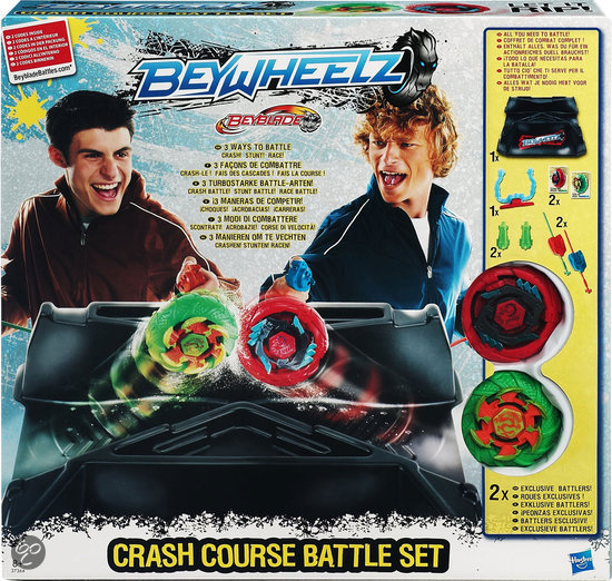 Beyblade BeyWheelz Crash Course Set