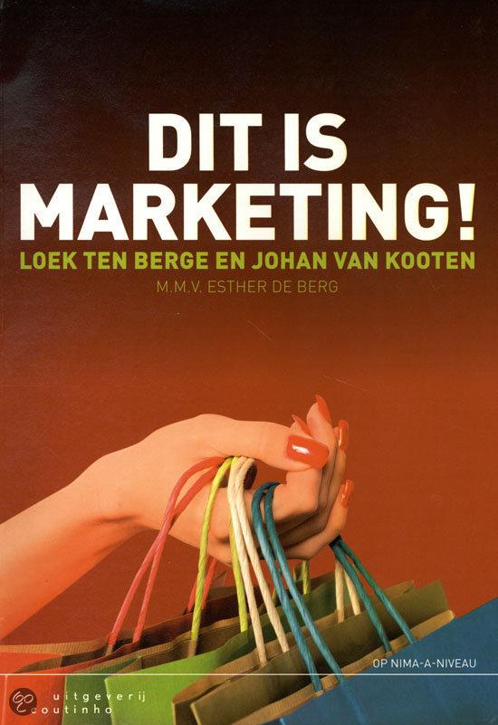 Dit is marketing!