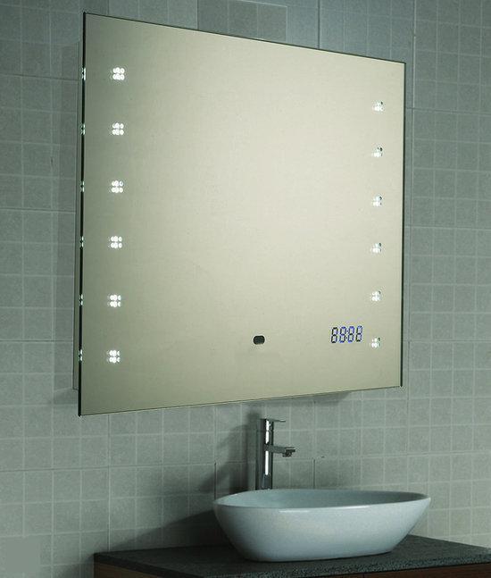 Karry badkamerspiegel b led s 45x60 - Spiegel draaibare badkamer ...