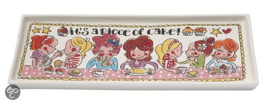 Blond amsterdam cakeschaal