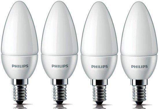 philips led lamp e14 4w 25w 4 stuks. Black Bedroom Furniture Sets. Home Design Ideas