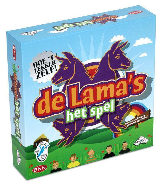 Afbeeldingsresultaat voor de lama's spel