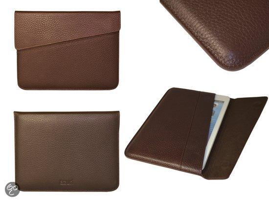 Azuri DeLuxe Business Sleeve voor Hannspree Hannspad Sn10t2, Bruin, merk i12Cover in Teuven
