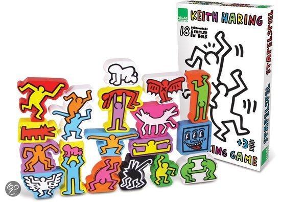 Afbeelding van het spel Stapel spel van de kunstenaar Keith Haring