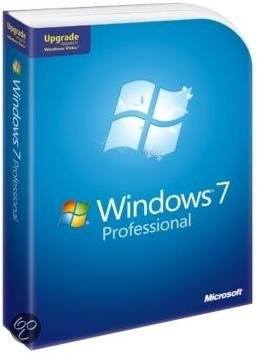 Microsoft Windows 7 Professional N - Nederlands / Upgrade / DVD