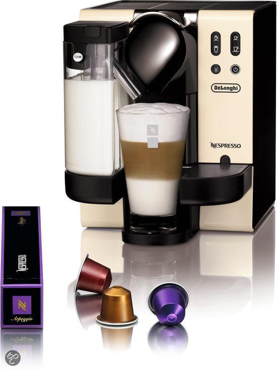 de 39 longhi nespresso apparaat lattissima en660 wit. Black Bedroom Furniture Sets. Home Design Ideas