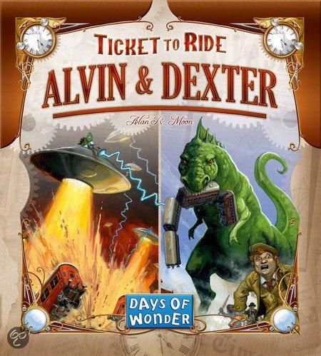 Ticket to Ride - Alvin & Dexter - Bordspel