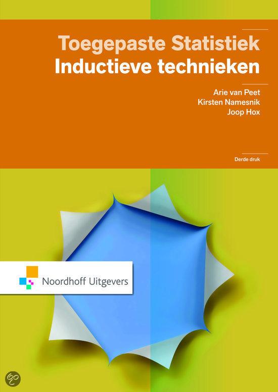 Toegepaste statistiek / inductieve technieken
