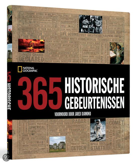 National Geographic: 500 historische gebeurtenissen in woord en beeld