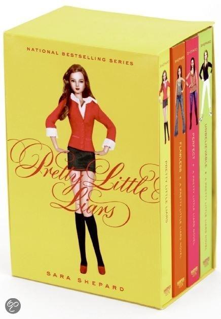 Pretty Little Liars boxset (1-4)