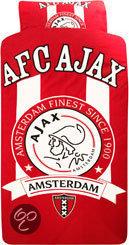 Ajax dekbedovertrek 140 x 200 220 cm 1 sloop for Ajax kussen