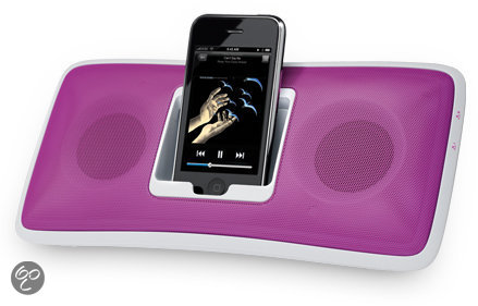 Logitech S315i - Dockingstation voor iPod en iPhone - Roze