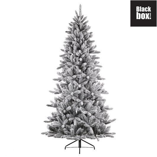 black box trees snowdon halve muur kunstkerstboom hoogte 215 cm. Black Bedroom Furniture Sets. Home Design Ideas