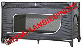 Campingbedje Met Matras : Bol cabino campingbedje met matras zwart