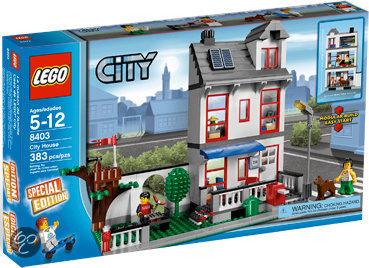 Lego city familiehuis 8403 lego speelgoed for Lego modernes haus