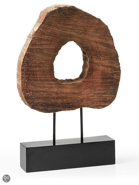 Laforma adrien decoratie hout wonen for Vensterbank decoratie hout