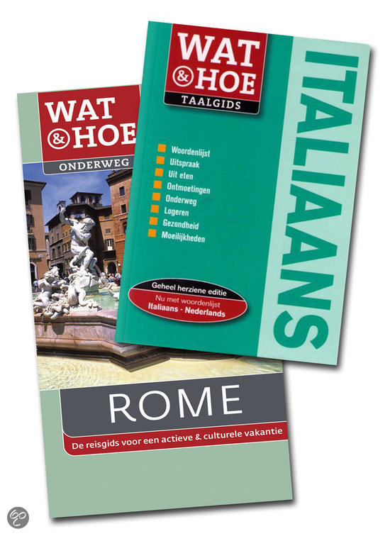 Wat & Hoe onderweg Rome met Wat & Hoe taalgids Italiaans