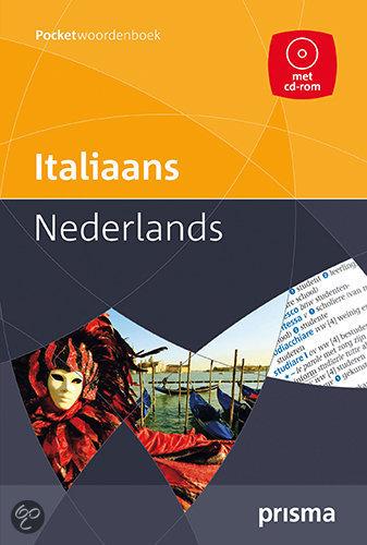 Prisma pocketwoordenboek Italiaans-Nederlands + CD-ROM / druk Heruitgave
